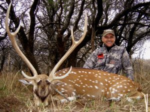 Mike Rogers SCI Expedition Safari Axis Deer Hunts Argentina