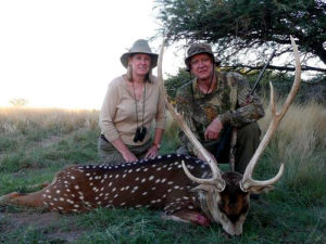 Hunting Axis Deer in Argentina