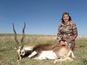 Girls with Guns GWG Blackbuck Hunts Argentina