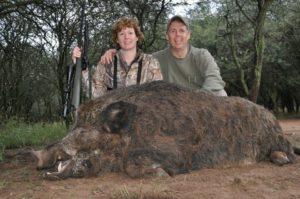 TJ Schwanky Vanessa Harrop Boar Hunting La Pampa