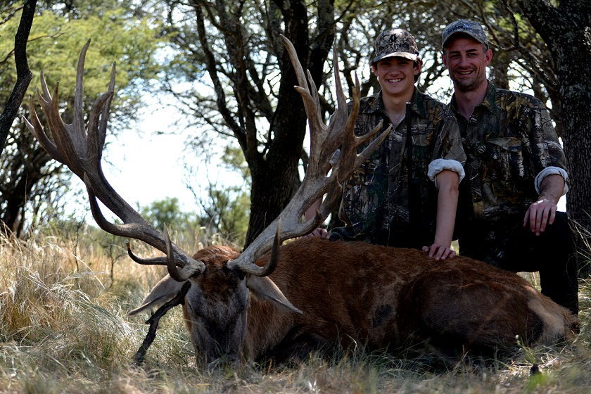 Red Stag Hunting Argentina