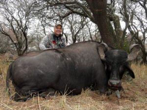 Mike Rogers SCI Trophy Water Buffalo Hunts
