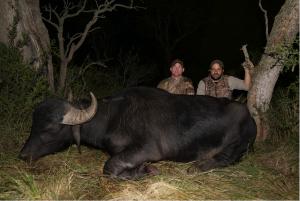 Matt Hughes Hunting Water Buffalo Argentina